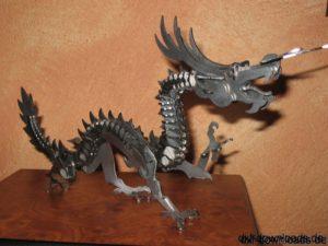 Drache 3D Modell - Dragon 3D Model