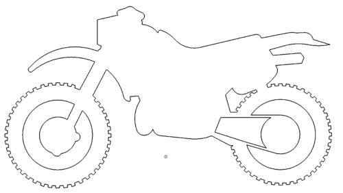 Motorrad Endurro Cross - Motorcycle Endurro Cross