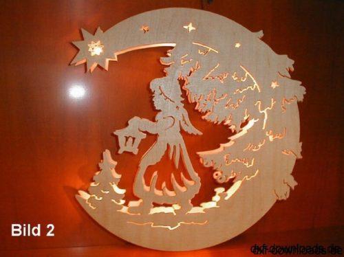 Engel mit Laterne - Angel with lantern