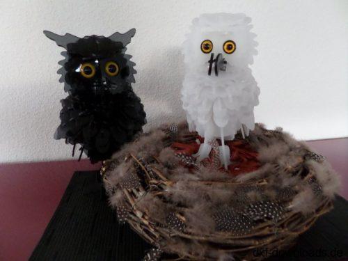 Eule 2mm 3D Modell - Owl 2mm 3D model