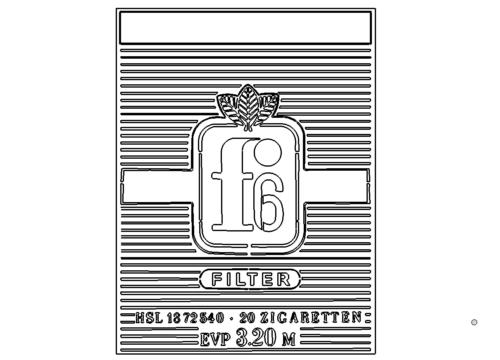 Zigaretten F6 - F6 cigarettes