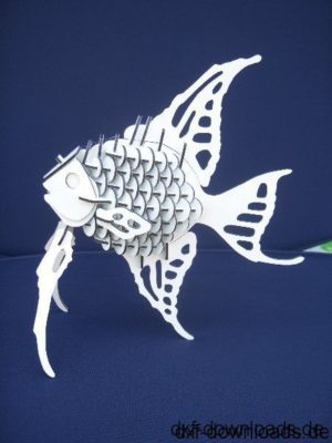 Fisch 3D Modell - Fish 3D Model