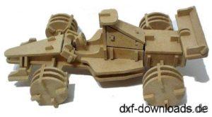 Formel Eins Auto / Formula One Car 3D Modell