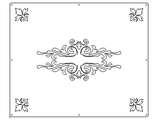 Geländerfüllung - Railing Panel