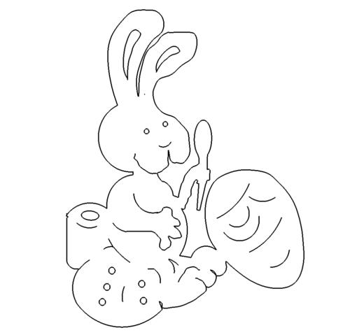Hase - RabbitHase Dxf