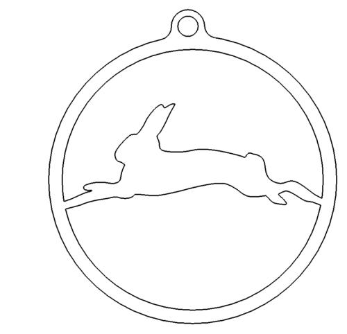 Schlüsselanhänger Hase - Rabbit