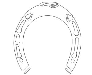 Hufeisen - horseshoe