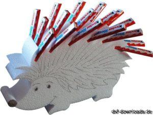 Igel als Halter - Hedgehog as a holder