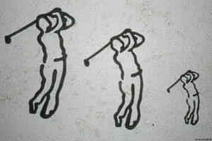 Golfer schlagen - beat golfers