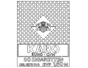 Zigaretten Karo - Karo cigarette -