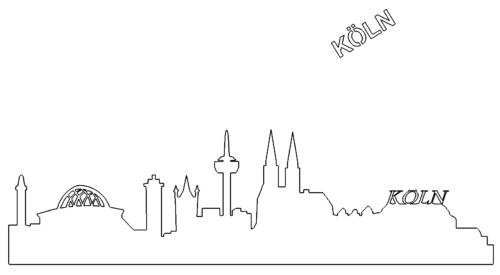 Skyline von Köln