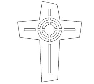 Deko Kreuz - Deco Cross