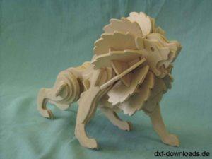 Loewe als 3D Modell - Loewe as a 3D model
