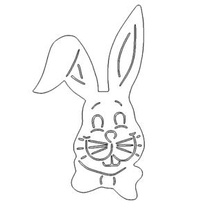 Hase für Ostern - Rabbit for Easter