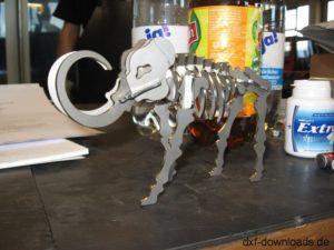 Mammut 3D Modell - Mammoth 3D model