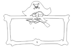 Pirat Rahmen - Pirate frame