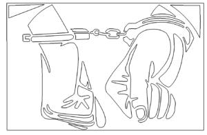 Handschellen - Gefängnis - Prison