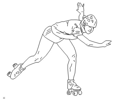 Rollschuh - roller-skate