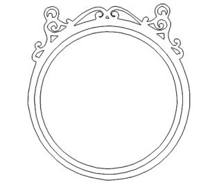 Runder Rahmen - Round Frame