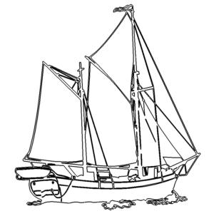 Segelschiff Segelboot - Sailboat Sailboat