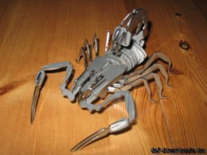Scorpion 3D Modell - Scorpion 3D Model