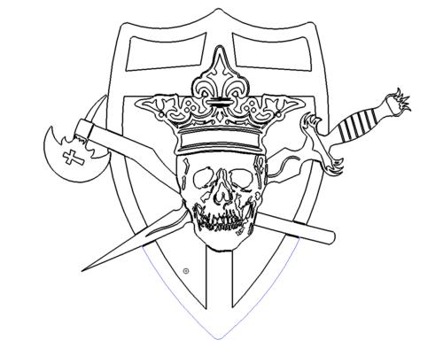 Totenkopf - Skull Head