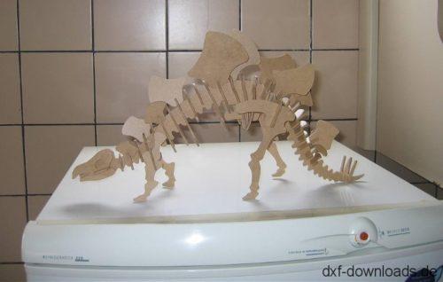 Stegosaurus 3D Modell - Stegosaurus 3D model