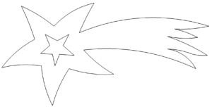 Sternschnuppe - shooting star