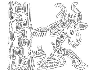Sternzeichen Stier - Star Sign Taurus