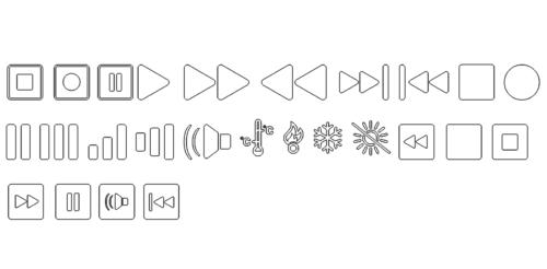 Paket mit Technik Buttons - Package with Technik/Buttons