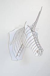 Einhorn Kopf 3D Modell - Unicorn Head 3D Model