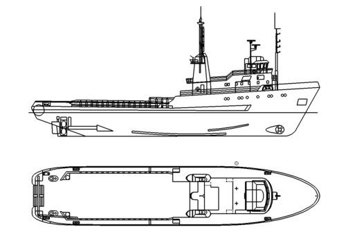 Großes Schiff - Large ship