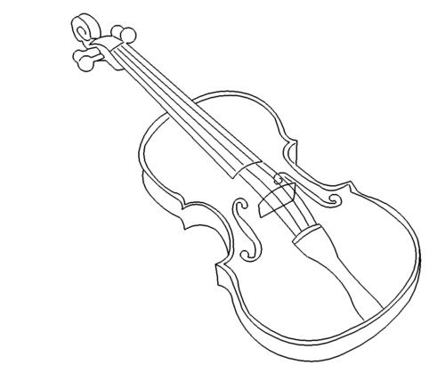Violine Musikspielinstrument - Violin music play instrument