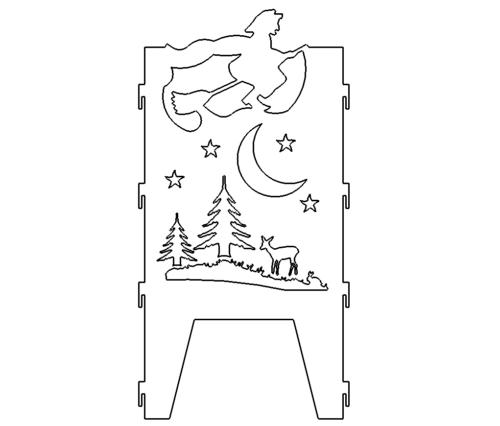 Feuerstelle Weihnachten - Fireplace