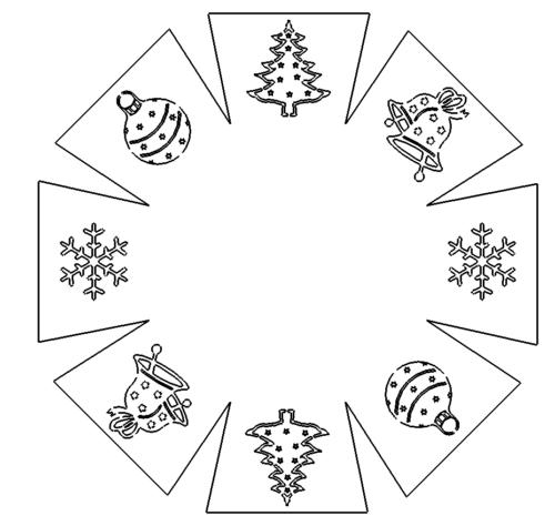 Weihnachten Deko Schale