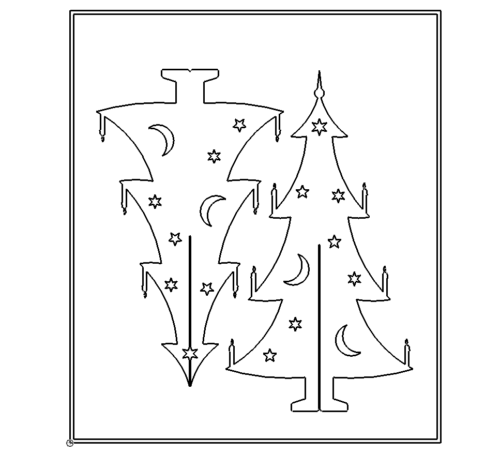 Weihnachtsbaum zum stecken - To put Christmas