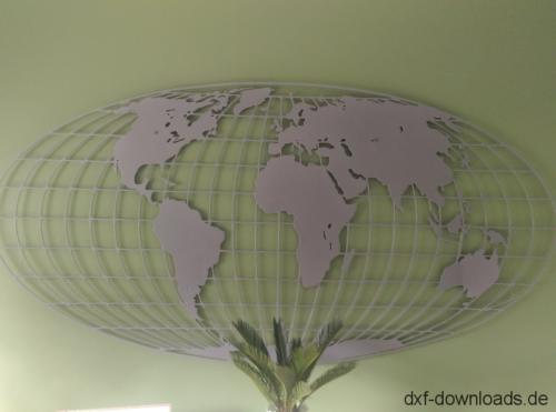 Weltkarte - Worldmap