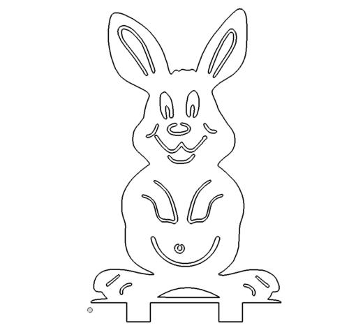 Hase zum Kanten - Rabbit to edges