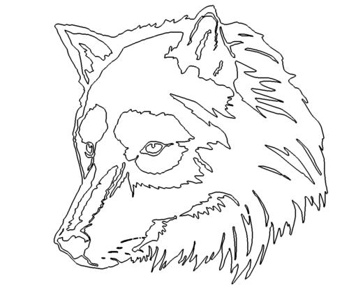 Wolfskopf - Wolf Head