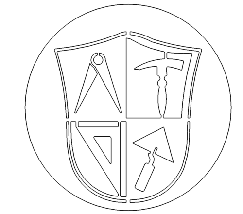 Zunftzeichen Maurer - Guild signs Mason