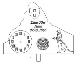 Zum Geburtstag Feuerwehrmann - Happy birthday fireman